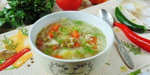 Низкокалорийный суп рецепт. Как приготовить диетический суп