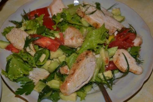 Салат фитнес. 5 рецептов фитнес-салатов