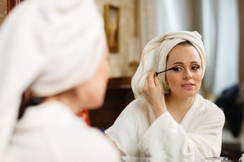 Хитрости макияжа утренний супер-макияж за 5 минут. Утренний макияж за пять минут?