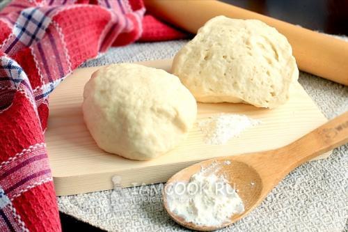 Тесто для пирогов из кефира без дрожжей. Тесто для пирогов на кефире без дрожжей