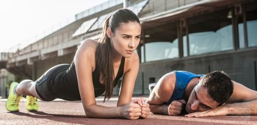 Упражнение планка. Планка для начинающих – первый шаг к красивому телу