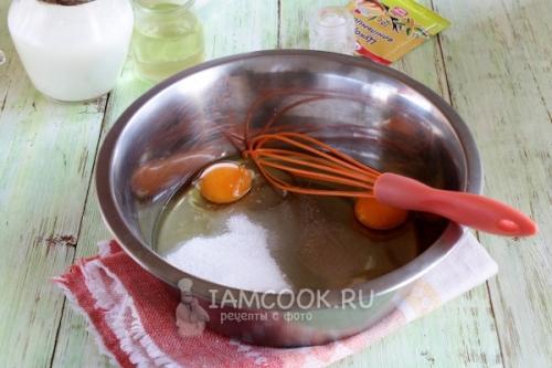 Рецепт кекса на кефире. Пышный кекс на кефире