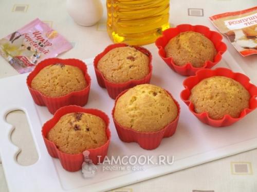 Рецепт кексов на сметане. Кексы на сметане в силиконовых формочках