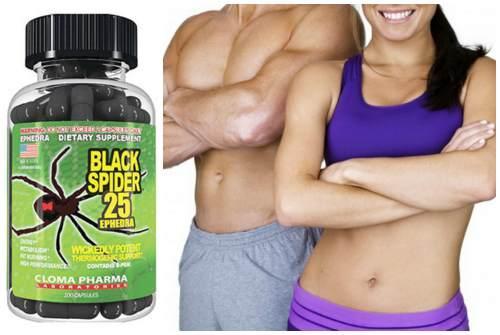 Черная вдова таблетки для похудения. Состав препаратаBlack Spider