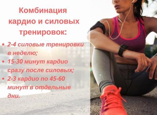 Чередование Кардио И Силовых Для Похудения. Чередование кардио и силовых тренировок для похудения