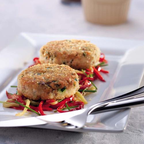 Пп обед для худеющих. Рыбные котлеты с гриль-овощами