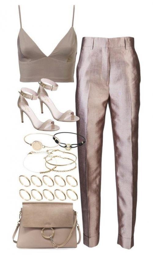 Макияж под пудровое платье. 7 роскошных вечерних образов в пудровых тонах, которые так и хочется надеть