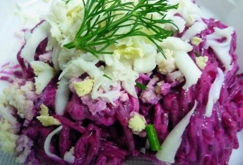 Салат для похудения из свеклы. Жиросжигающий, витаминный салат из свеклы с яйцом