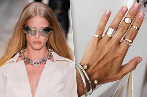 Какие кольца в моде. Какие украшения будет модно носить в 2020 году — главные тренды и сочетания