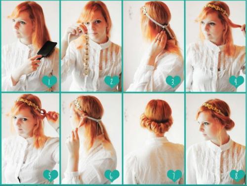 Легкие прически самой себе. Прически самой себе —, как сделать самые модные и красивые прически своими руками (100 фото)
