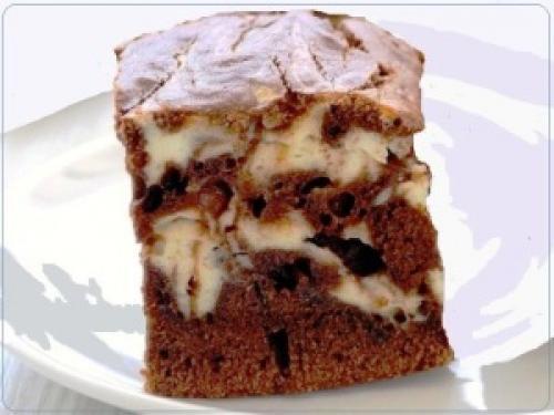 Шоколадно-творожный мраморный пирог. Шоколадно – творожный, мраморный пирог