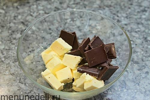 Шоколадно-творожный пирог с вишней. Шоколадно-творожный пирог с вишней