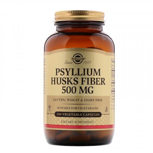 Псиллиум. Solgar Псиллиум – гарант улучшения обмена веществ