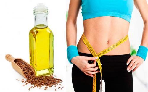 Диета на льняном масле. Как применять льняное масло для похудения
