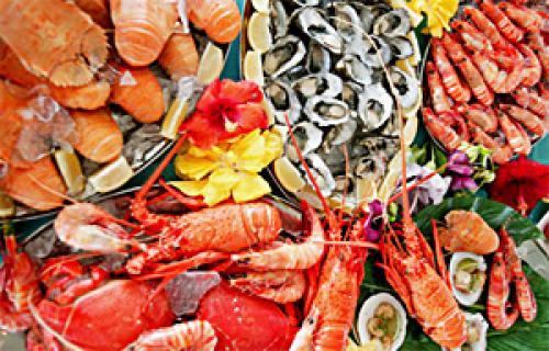 Диета на овощах и морепродуктах. Монодиета на морепродуктах (креветки, мидии, минтай, треска)