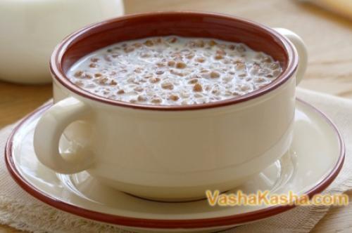 Каши на завтрак на молоке. Гречка с молоком — пошаговый рецепт приготовления