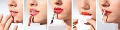 Уроки по макияжу для начинающих брови. Нанесение губной помады