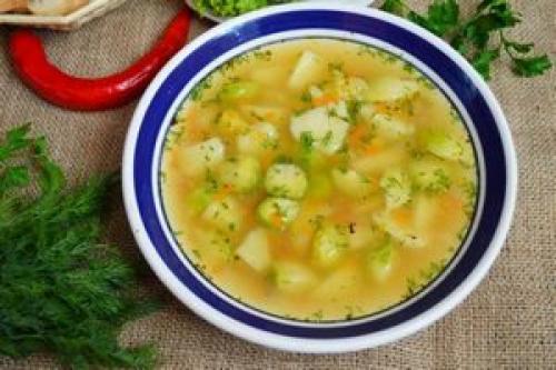 Суп для похудения из капусты. Диетическое питание