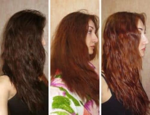 Как вывести краску с волос. Как смыть черную краску
