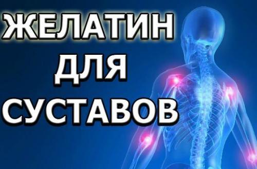 Желатин помогает для суставов. Желатин для суставов: миф или реальная помощь при травмах в спорте?