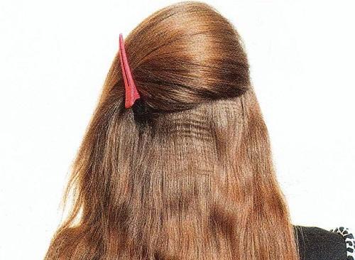 Мастер-класс по прическам на длинные волосы в домашних условиях. Вечерняя прическа с локонами— мастер класс