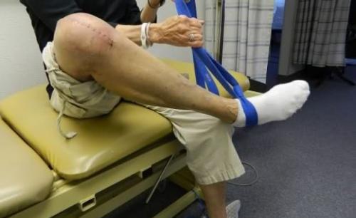 Сколько заживает коленный сустав после операции. Замена коленного сустава, реабилитация после операции