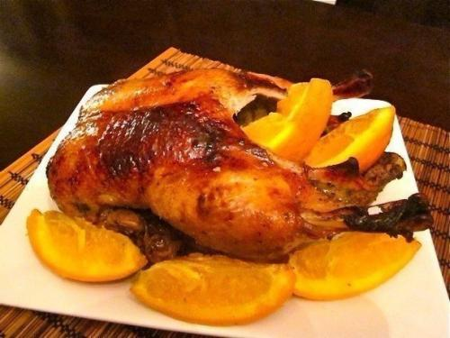 2 вкуснейших рецепта: утка с яблоками и утка запеченная с апельсинами.