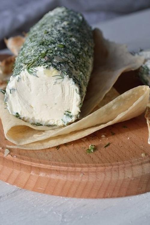Сыр творожный. Творожный сыр из сметаны и кефира.