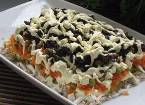 Обалденные салаты. Обалденные слоеные салаты: топ - 9 рецептиков.