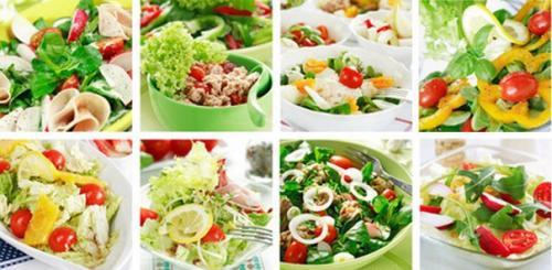 Салаты для похудения - рецепты