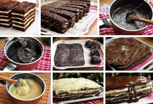 Крем для торта спартак