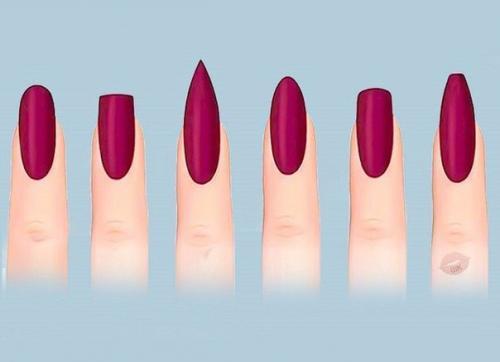 Какая форма ногтей мне подходит