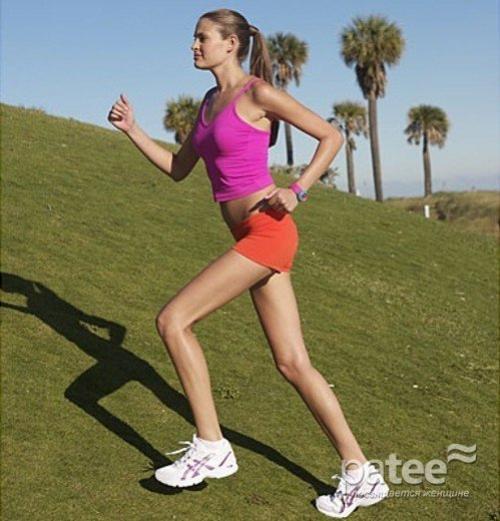 Похудения с помощью ходьбы