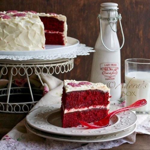 Рецепт торта красный БАРХАТ. Торт