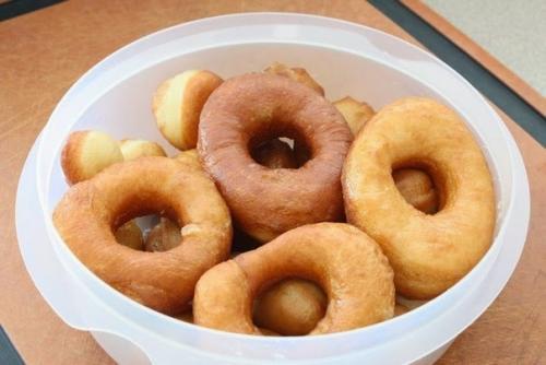 Пончики на 1 кефире пошаговый рецепт с