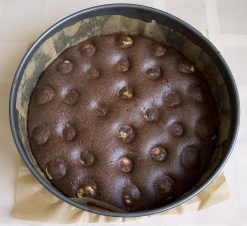 Шоколадно-творожный пирог. Шоколадно - творожный мягкий пирог.