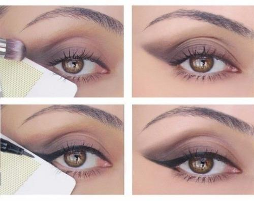 Уроки по макияжу.