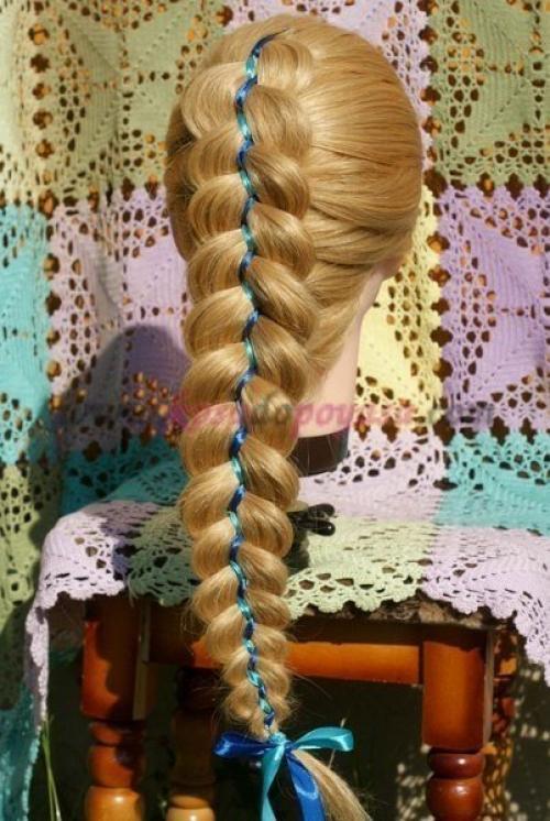 88ff4cdf5d37 Мастер-класс по прическам на длинные волосы.