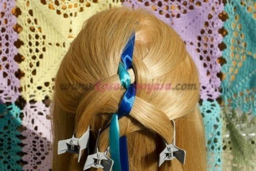 Мастер-класс по прическам на длинные волосы.