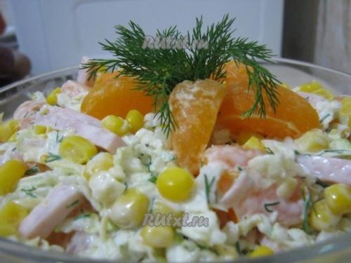 Салат с ветчиной. Топ - 8 самых вкусных салатов с ветчиной