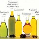 Узнайте какую силу в себе таят растительные масла. Растительные масла - информация о каждом.