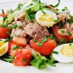 6 идей салатиков с тунцом: можно даже на ночь!