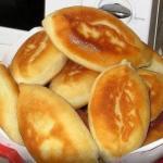 Пирожки с картошкой.