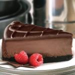 Шоколадный чизкейк для сладкоежек.