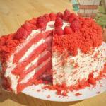 Рецепт торта красный бархат.