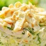 Топ - 6 вкусных салатов.