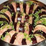 Баклажаны по-турецки - очень вкусное и аппетитное блюдо?