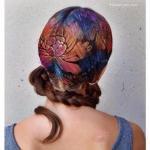 Граффити на волосах - новый тренд!