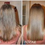 Ламинирование волос желатином!
