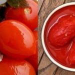 Консервирование помидоров в собственном соку.